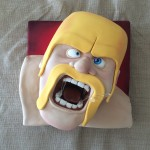 clash of clans cake ann reardon