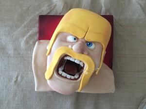 clash of clans cake ann reardon