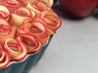 rose apple tart recipe video ann reardon