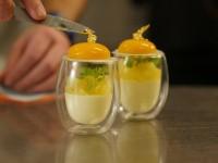 gold leaf on dessert reardon
