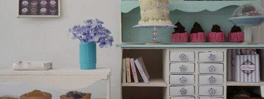 make doll house furniture video