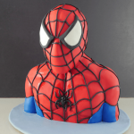 spiderman cake tutorial video