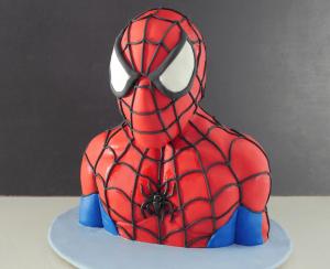 spiderman cake tutorial video