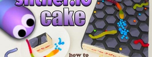slitherio cake snake cake