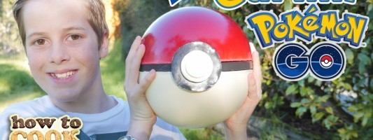Giant Gummy Pokeball Pokemon Go
