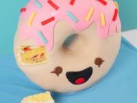 3D donut cake ann reardon how to