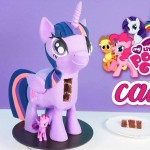 my little pony 3d standing cake tutorial