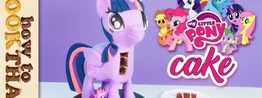 my little pony 3d standing cake tutorial