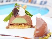 chocolate dome dessert recipe