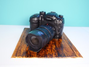 camera cake template