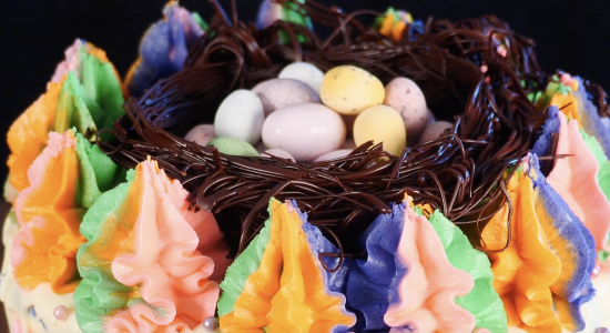chocolate easter nest edible ann reardon