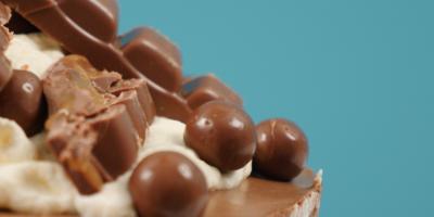 yummy chocolate covered cake recipe