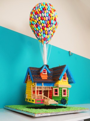 up gingerbread house template and recipe