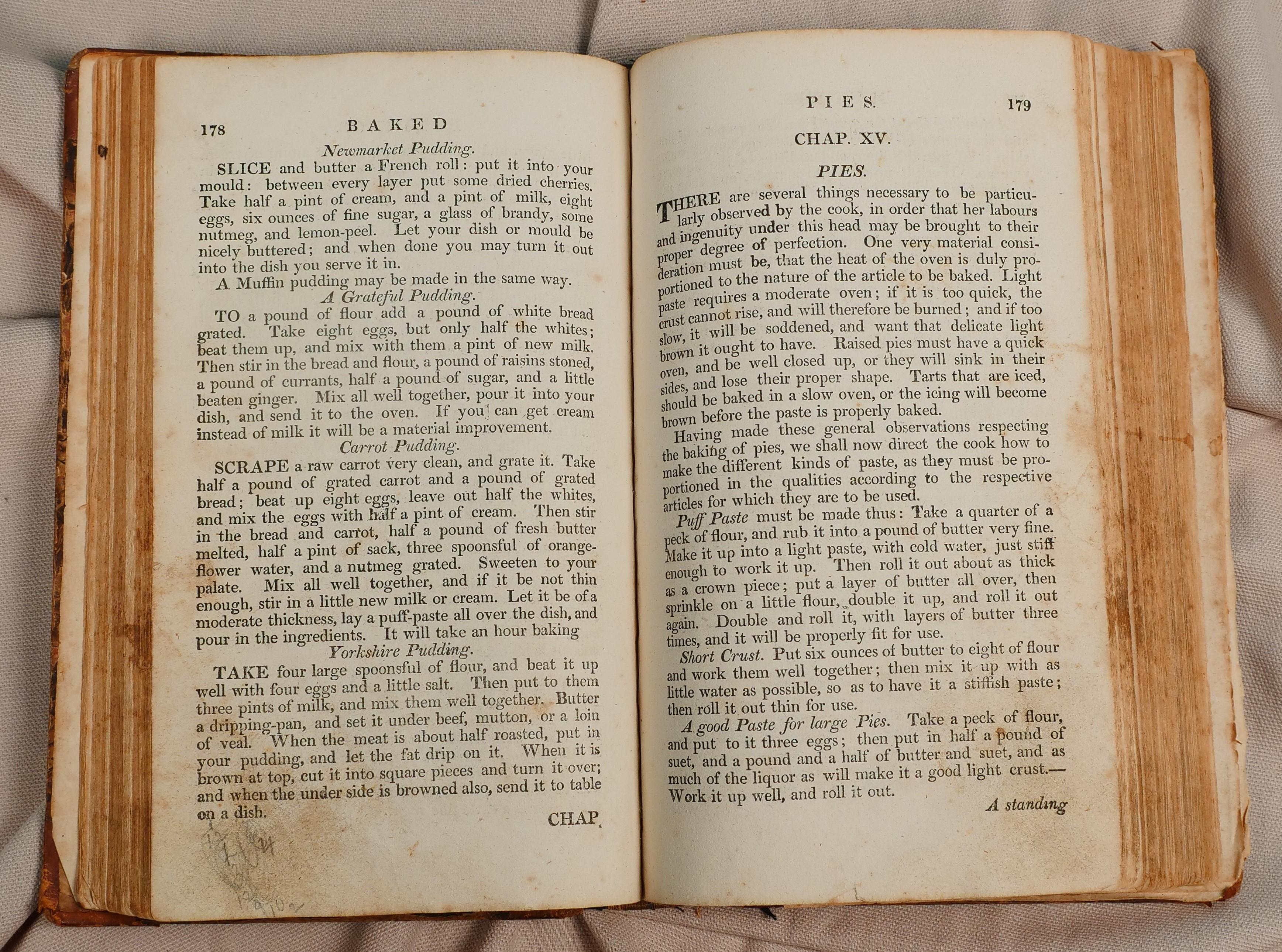 200 year old cookbook ann reardon