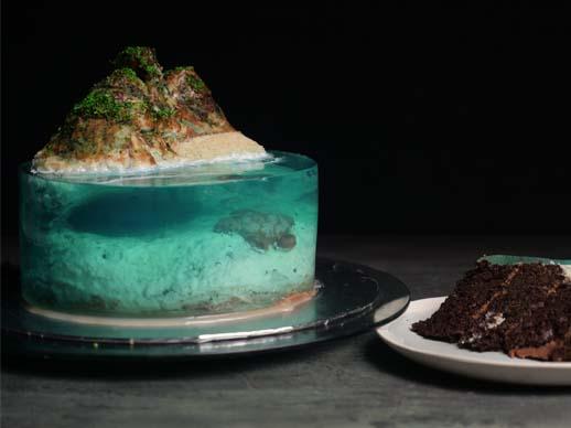 Cake Rescue : Shaped Cake Tins, Tsunami Cake & Island Cake
