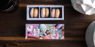 macaron box free download